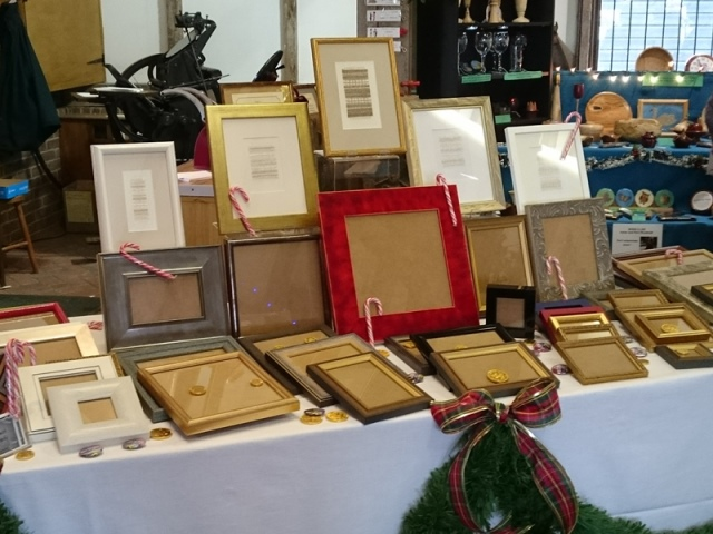 edge bespoke picture framing ready for Christmas